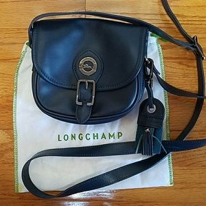 LongChamp Crossbody Bag Navy